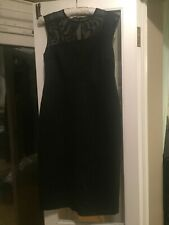 Lk Bennett Black Sophia Dress Size 14