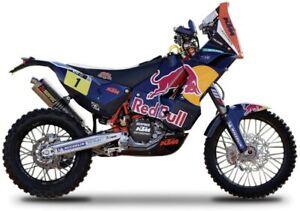 "Bburago 1:18 KTM450 Dakar Rally ""Red Bull"" Diecast Motorcycle Model 51071"