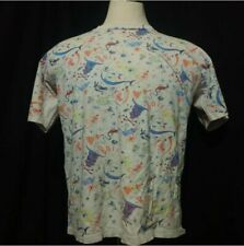 VINTAGE GLOW IN THE DARK OINGO BOINGO SINGLE STITCH SHIRT ALL OVER PRINT