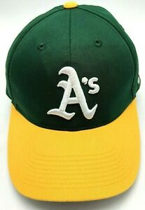 OAKLAND A's green / gold adjustable cap / hat - size S / M