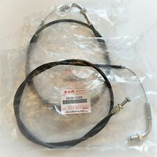 GENUINE SUZUKI GT750 L-B THROTTLE CABLES 58300-31200 & 58300-31600