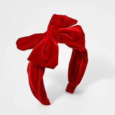 New! Girls' Novelty Headband - Cat & Jack™ Red (All ages)
