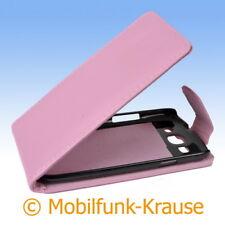 Flip Case Etui Handytasche Tasche Hülle f. Samsung GT-I9300 / I9300 (Rosa)