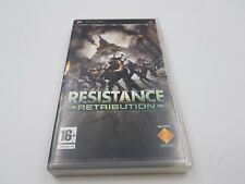 JUEGO RESISTENCE RETRIBUTION SONY PSP PAL