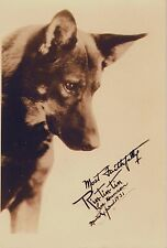 RARE STILL RIN TIN TIN SIGNED