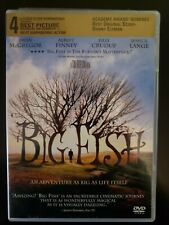 Big Fish Dvd Complete With Case & Cover Artwork Buy 2 Get 1 Free