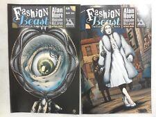 ALAN MOORE ~ Fashion Beast # 1 COMIC Reg & Variant Cover ~ Avatar Press