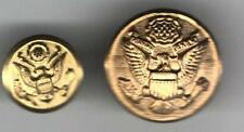 2 US Bald   EAGLE Vintage Uniform Buttons HALLMARKED