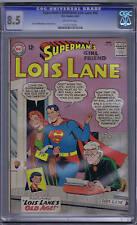 Superman's Girl Friend Lois Lane #40 DC Pub 1963 CGC 8.5 (VERY FINE +)