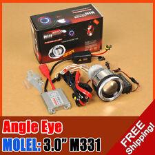 "3.0"" M331 Motorcycle Bike HID BI-XENON PROJECTOR Halo Angel Eye + 35W AC BALLAST"