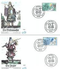 Germany 1986 FDC 1274-77b Handwerksberufe Crafts
