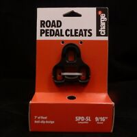 "CHARGE Road Pedal Cleats SPD-SL 7° of Float 9/16"" Threads Bike Bicycle MTB"