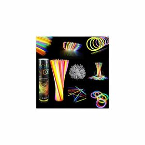 Premium Glow Sticks Party Pack 8 inch with Connectors Party In The Dark