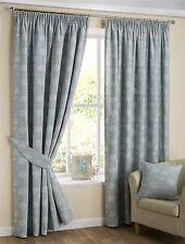 Linen Blend Floral Curtains & Pelmets