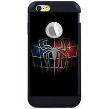 Apple iPod Touch 5/6 5th/6th Gen. Hybrid Case Cover Spiderman Logo Black