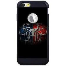 Apple iPod Touch 5/6 5th/6th Gen. Hybrid Case Cover Spiderman Logo Black