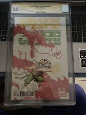 Iron Fist: The Living Weapon 1 CGC 9.8 6/14 1X Auto Skottie Young Variant{CGCB2}