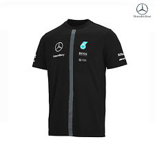 Mercedes AMG Petronas F1 Team T-Shirt Black size S NEW