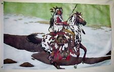 Guardian Spirit Native Indians Art Flag 3' X 4' Indoor Outdoor Historical Banner
