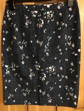 Blue Smoke Cornflower Pencil Skirt, size 10