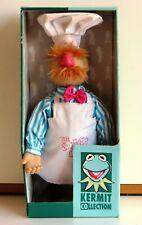 Original Boxed SWEDISH CHEF Doll 1999 Igel Muppets Muppet Show Jim Henson 40 cm