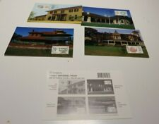 MINT 1995 NATIONAL TRUST  STAMP MAXI CARD SET OF 4