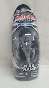 Star Wars Die Cast EXECUTOR & star destroyer titanium Series 2006 micro Machines