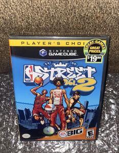 NBA Street Vol. 2 NEW SEALED! RARE JORDAN & DR J COVER Nintendo GameCube/Wii