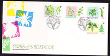 Singapore 1990 Ferns First Day Cover Unaddressed