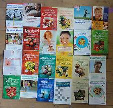 Trias Verlag 24 Exemplare Gesundheit Kochen Medizin Naturheilkunde
