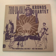 TRIO DA KALI AND KRONOS QUARTET Ladilikan. Rare 11-track promo CD 2017