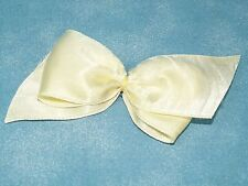 VOGUE 1950's Vintage Yellow Large Soft Hair Bow for Ginny Doll - hair pin
