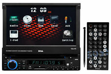 "Boss BV9963I 7"" Single-Din Flip Out In-Dash Car DVD Receiver w/ USB/SD/AUX/iPod"