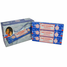 3 Packs Original Satya Sai Baba Nag Champa Incense Sticks  Joss Insense Genuine
