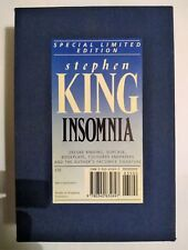 Stephen King Insomnia Special Limited Edition 1994 in slipcase.