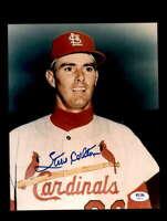 Steve Carlton PSA DNA Coa Hand Signed 8x10 Cardinals Photo Autograph