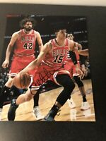 Chandler Hutchison Chicago Bulls Autographed Signed 8X10 Photo W/COA