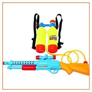 pistola fucile a pompa ad acqua con zaino serbatoio per bambini grandi giochi