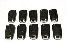 10 x  Vauxhall / Opel 2 button flip blade keys Astra, Corsa, Vectra