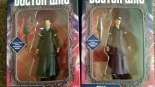 2 X DOCTOR DR WHO 12th Dr Missy Figures Purple Outfit, & Black outfit