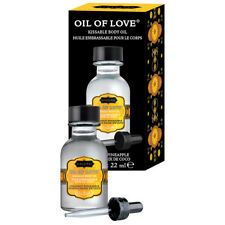 KAMASUTRA massage oil of love flavored COCONUT PINEAPPLE kissable kama sutra