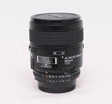 Nikon AF Micro Nikkor 1:2,8 / 60 mm D Objektiv gebraucht