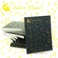 Anime Sailor Moon Logo Crystal Memo 20th Tsukino Usagi Diary Cosplay Notebook