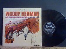 Woody HERMAN il gregge OSCILLANTE HERMAN LP JAZZ MODERNO RARA!