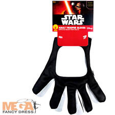 Stormtrooper Gloves Fancy Dress Star Wars Force Awakens Adults Costume Accessory