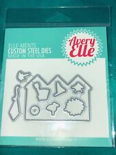 BESIDE THE SEA Avery Elle Elle-ments Craft Die Steel USA New Scrapbooking