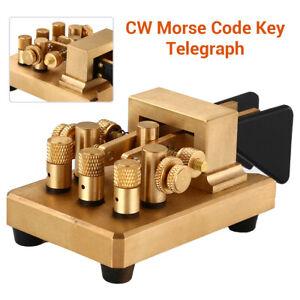 Magnetic Return Paddles Automatic Paddle Key Keyer CW Morse Code HF Radio