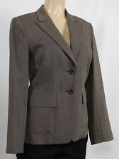 TAHARI Women's Suit Blazer Jacket Brown Size 6