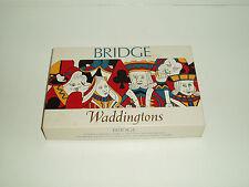 "Vintage ""Bridge"" card game by Waddingtons. 1963."