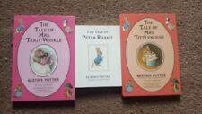 Beatrix Potter Books Peter Rabbit,Mrs Tiggy-Winkle, Mrs Tittlemouse 3 books